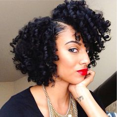 Bob hairstyles are the ones that will suit every texture and every face shape. Get ready to chop off your locks because these Gorgeous Bob Hairstyles for Black Women will tempt you beyond your imagination. Love Hair, Big Hair, Gorgeous Hair, Black Women Hairstyles, Bob Hairstyles, Haircuts, Layered Hairstyles, Trendy Hairstyles, Curly Hair Styles