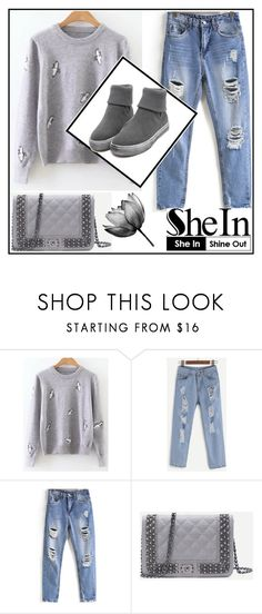 """Shein no.8"" by almamehmedovic-79 ❤ liked on Polyvore"