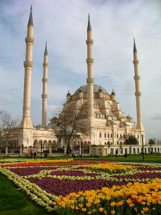 Sabancı Central Mosque in Adana, Turkey ❤ www.healthylivingmd.vemma.com ❤
