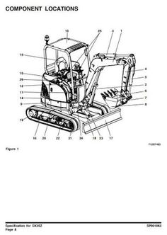 1991 KOMATSU KDC 614 Series Diesel Engine Workshop Service