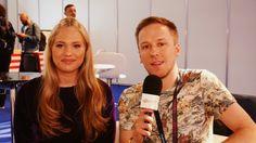 Interview mit Anja Nissen (Dänemark) Eurovision 2017, Interview