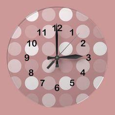 Fun Big Dots Wall Clock by joacreations