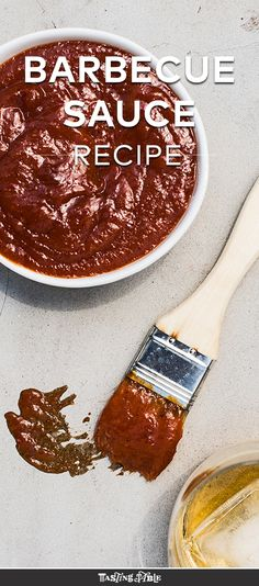Bourbon-Chile Barbecue Sauce: Smoky bourbon melds with spicy Thai chile and sweet peach preserves for the ultimate BBQ sauce.