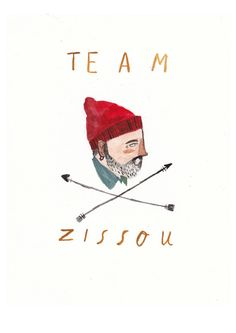 Team Zissou Life Aquatic by DickVincent on Etsy