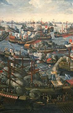 7th October 1571: the Holy League destroyed Ottoman Empire forces in the Battle of Lepanto