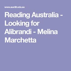 looking for alibrandi conflict The novel looking for alibrandi by melena marchetta is about josephine alibrandi, a catholic girl, in her final year of high school as the year progresses josie alters her perspective on many issues including family, the importance of social standing and wealth, own identity and culture.