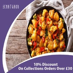 The Chatgaon offers delicious Indian Food in Chesham, Hemel Hempstead Browse takeaway menu and place your order with ChefOnline. Order Takeaway, Epicure Recipes, Cauliflower Potatoes, Indian Food Recipes, Ethnic Recipes, Recipe Using, Chana Masala, The Hamptons, A Table