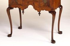 Examples of Antique Furniture Leg Styles: Cabriole Leg