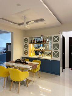 Kitchen Room Design, Home Room Design, Kitchen Cabinet Design, Dining Room Design, Home Decor Kitchen, Interior Design Kitchen, Bar Table Design, Kitchen Unit, Kitchen Cupboard