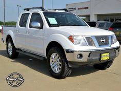 2011 Nissan Frontier SL 1N6AD0EV4BC427001 Clean Carfax. New Tires. 4X4!