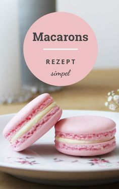 Macaron's recipe: they always succeed and are super tasty! Macaron's recipe: they always succeed and are super tasty! Easy Cake Recipes, Healthy Dessert Recipes, Cupcake Recipes, Easy Desserts, Cookie Recipes, Diet Recipes, Chicken Recipes, French Macarons Recipe, Mary Berry