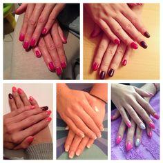Gel nails #mywork