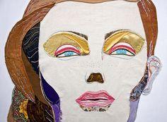 pau - soy un babar Embroidery Applique, Embroidery Stitches, Portrait Art, Portraits, Textiles, Textile Artists, Botanical Illustration, Fabric Art, Art For Kids