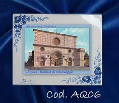COLLEZIONE C era una volta l  ABRUZZO L  AQUILA Ceramica maiolicata BONTEMPO
