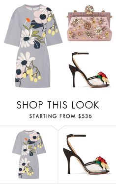 """""""♡"""" by iojikxamiak ❤ liked on Polyvore featuring Marni, Charlotte Olympia and Dolce&Gabbana"""