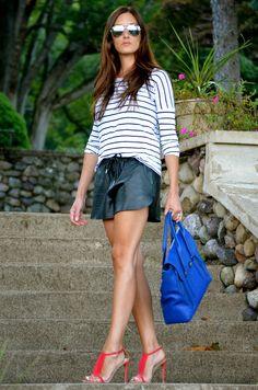shorts + stripes