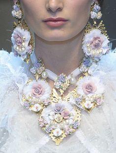 """lamorbidezza: """"Dolce&Gabbana Fall 2012 Details """""""