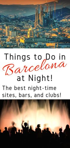 Guide to Barcelona Nightlife! Looking for the best things to do in Barcelona at night? Here are the best bars, clubs, and sites to visit at night! Europe Travel Guide, Spain Travel, Croatia Travel, Travel Plan, Budget Travel, Italy Travel, Travel Guides, Barcelona Travel, Barcelona Spain