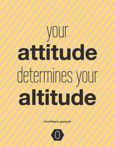 Inspiration Boost : quote over attitude