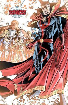 Doctor Strange The Sorcerer Supreme | ... , Doctor Strange stepped up to reclaim his Sorcerer Supreme mantle