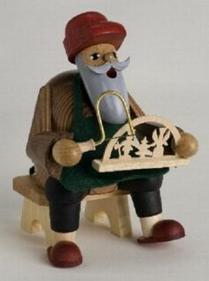 Christmas Arch Maker German Incense Smoker Handcrafted in Erzgebirge Germany