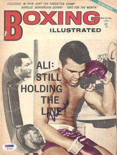 Muhammad Ali Autographed Signed Boxing Magazine Cover PSA DNA K74282 | eBay