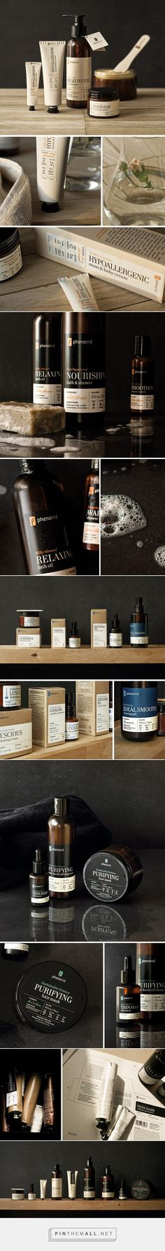 Phenome Organic Skincare Product Packaging by Ah&Oh Studio | Logo Designer Bradenton, Web Design Sarasota, Tampa Fivestar Branding Agency #skincare #skincareproducts #skincarepackaging #packaging #packagingdesign #packaginginspiration #package #packagedesign #design #labels
