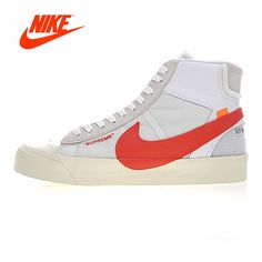 445aef832a53cf Original New Arrival Authentic NIKE BLAZER MID Men Skateboarding Shoes Sport  Outdoor Sneakers Good Quality Breathable