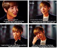 Super Junior gets a lot of hate from people who aren't ELFs for some reason but they obviously don't know the real Super Junior. Each member has gone through so much and they as a team have gone through so much. Especially Leeteuk, since he's the leader he has a lot of pressure on him. He's expected to be an example for the others and someone they can lean on. But he has no one to lean on and to share his struggles with. He's the best leader ever and has led his team through so many…