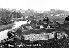 Old Black and White Photograph of Sprotbrough Boat Inn 1912 and Levitt Hagg South Yorkshire, Local Photographers, Old Maps, Old And New, Boat, Photographs, Photos, Black And White, Dinghy