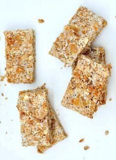 Ginger Vanilla Protein Crunch Bars @spabettie