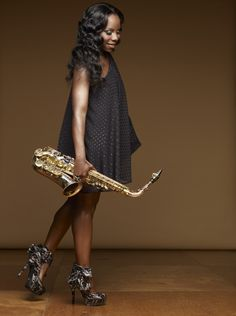 Tia Fuller is a saxophonist, composer, and educator is a member of the all-female band touring with R & B star, Beyoncé.