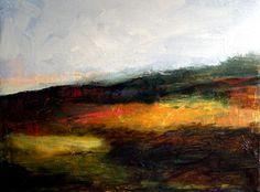 """Dappled field"" Acrylic on canvas. 2014"