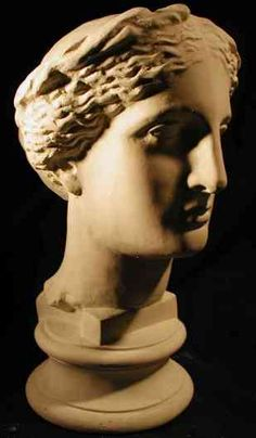 Minerva Bust   Pronunciation: (mi-nûr'vu), [key] —n.  1. the ancient Roman goddess of wisdom and the arts, identified with the Greek goddess Athena.  2. a woman of great wisdom.  3. a female given name.  http://images.arkahdiaarts.com/productimages/arkahdia2/ST02_A.JPG