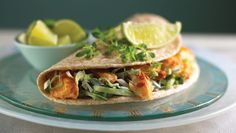 Speedy Fish Tacos http://www.rodalesorganiclife.com/food/6-high-protein-dinners-that-are-easier-than-chicken/slide/2