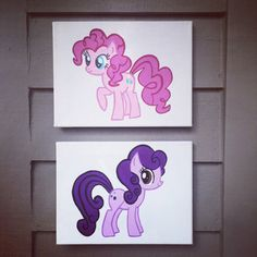Hey, I found this really awesome Etsy listing at https://www.etsy.com/listing/216551315/custom-my-little-pony-9x12-canvas