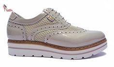 Nero Giardini , Chaussures de ville à lacets pour femme - beige - crème, 38 EU - Chaussures nero giardini (*Partner-Link)