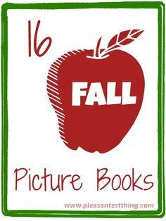 16 favorite fall picture books