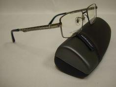 Giorgio Botto Ultra Lite Men's Titanium Eyeglass Frame GB2463 -53 - Gray