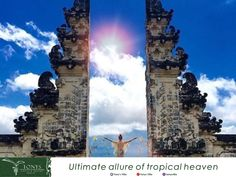 Never say stop before reach the temple in the top which is always called as The Gateway to Heaven. Lempuyang Temple is become favorite destination during stay in Bali. Don't miss it!  Image courtesy by Google #bali #amazingbali