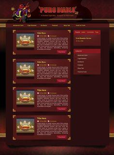 www.lanotdesign.com #Puro_Diablo #website #design #forum #skin #lanotdesign #manila #philippines