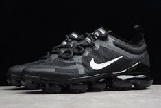 designer fashion bd706 2ec06 Men s and Women s Nike Air VaporMax 2019 Black White Shoes