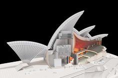 Model : Sydney Opera House | Jørn Utzon