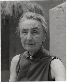 Georgia O'Keeffe, 1956.