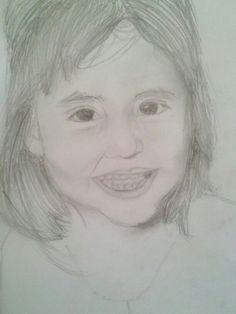 Ella es mi hermana °3° Dibujada por mi