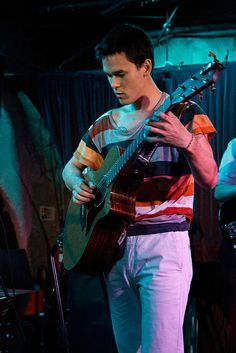 Justin Nozuka performed at The Borderline in London on April 7th, 2014.