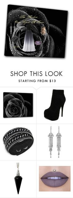 """The Shadow"" by kfox307 ❤ liked on Polyvore featuring Luichiny, Swarovski, Shay, BlackMoon and Jeffree Star"