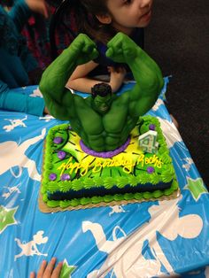 how to make a fondant incredible hulk fist