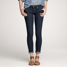 cute jeans and sandals #fashion #style #denim