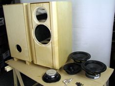 QUATTRO-mkII Stacked Washer Dryer, Washer And Dryer, Diy Speakers, Speaker Design, Crossover, Audio, Home Appliances, Projects, Circuits
